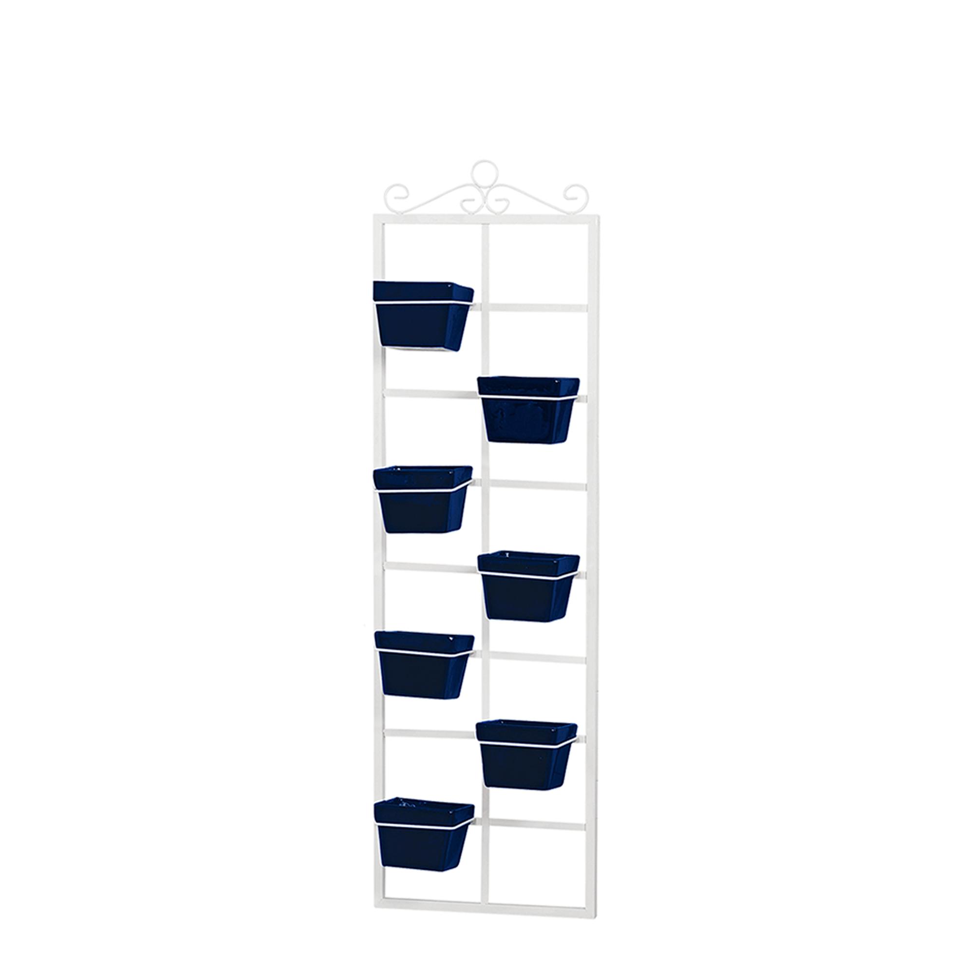 Suporte Vertical c/ 7 Vasos Quadrado