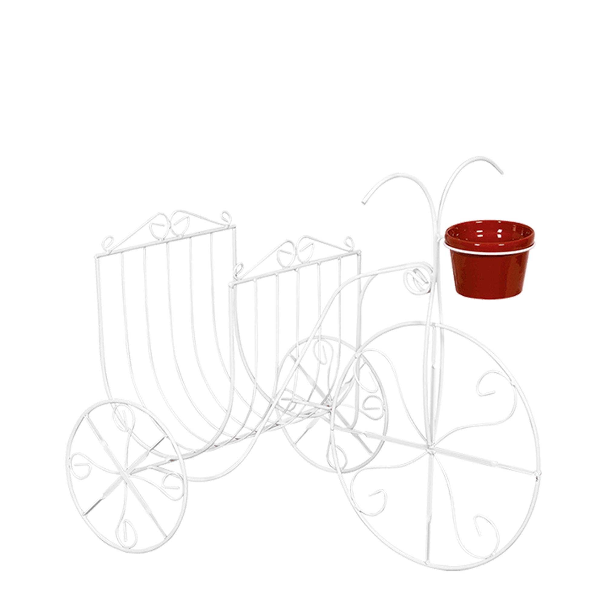 Bicicleta c/ Revisteiro c/ 1 Vaso 11