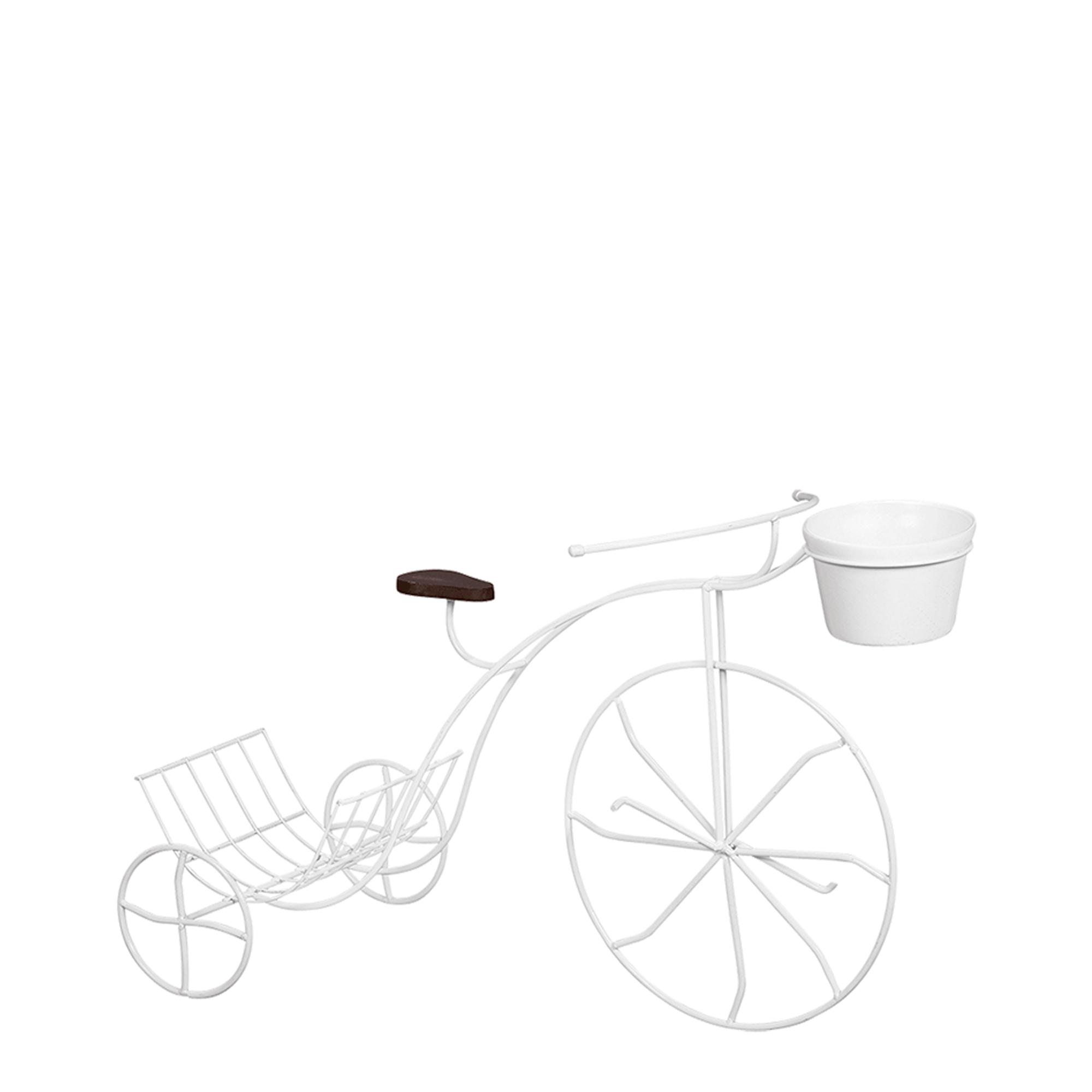 Bicicleta Porta Revista c/ Banco Madeira