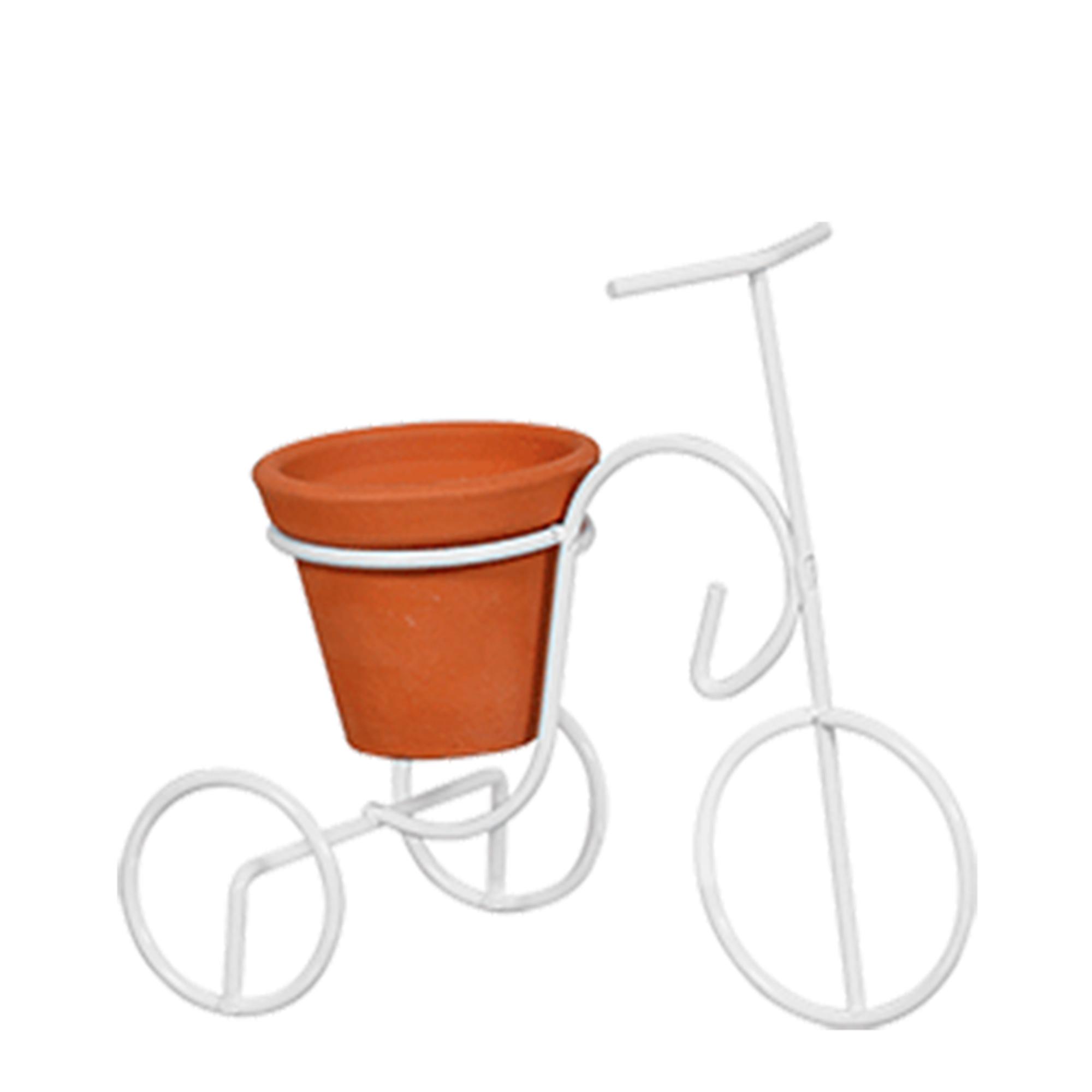 Bicicleta PP Vaso Barro