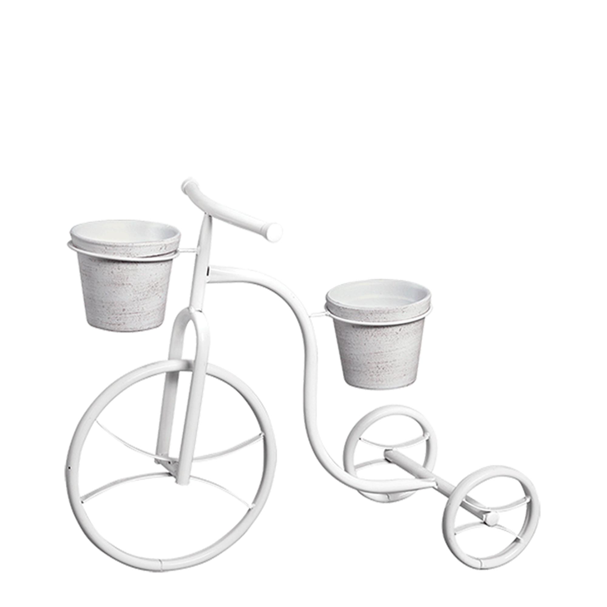 Bicicleta Torta c/ 2 Vasos Barro