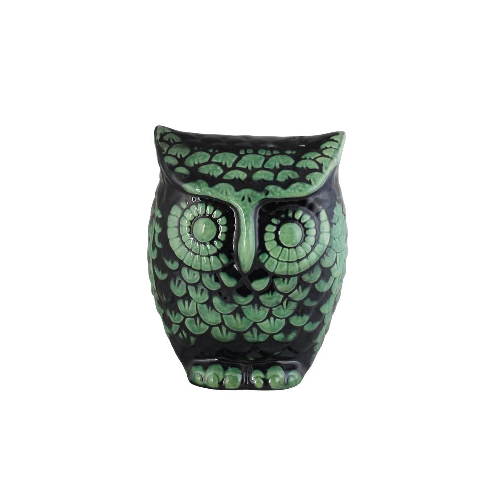 Coruja Cerâmica
