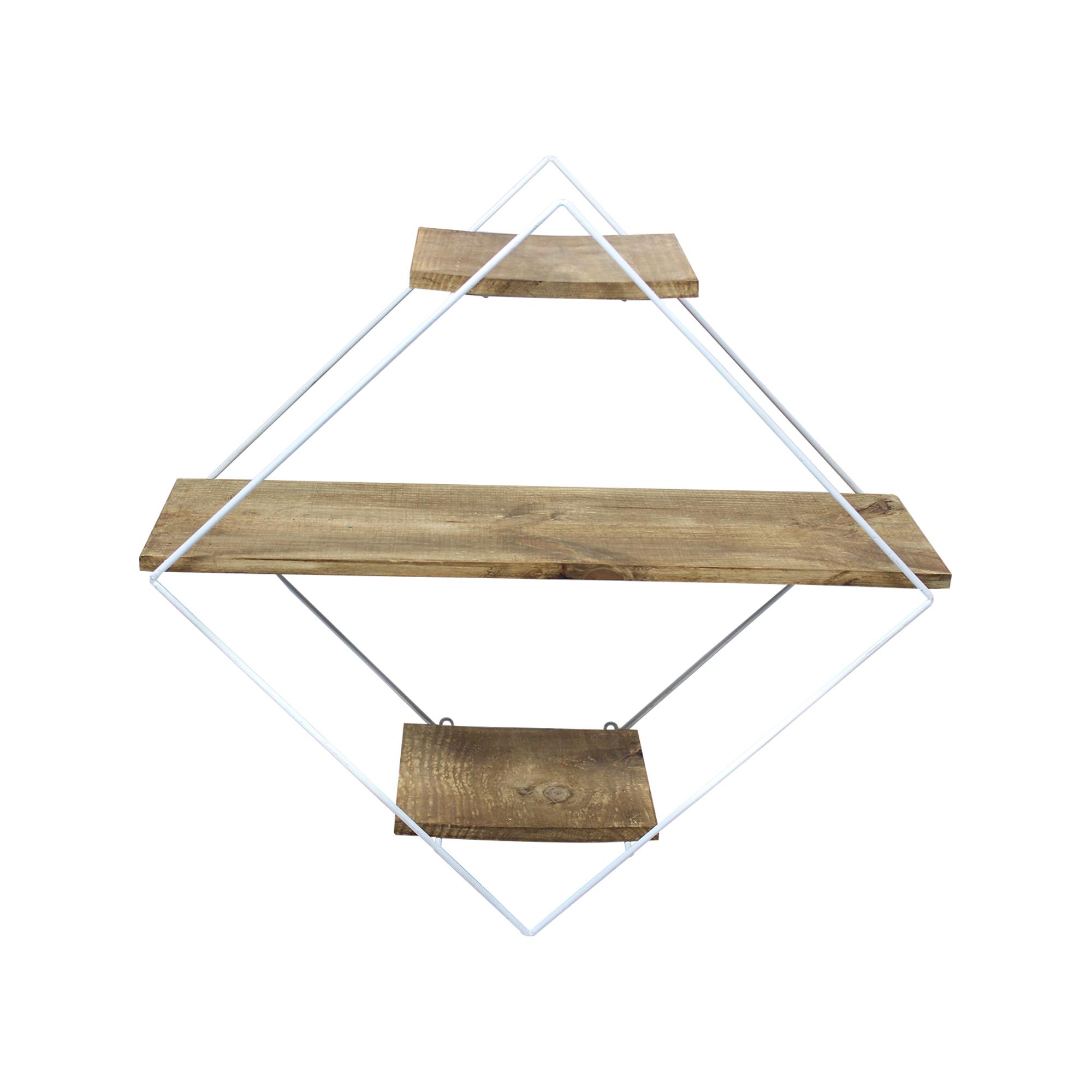 Prateleira Triângulo Madeira