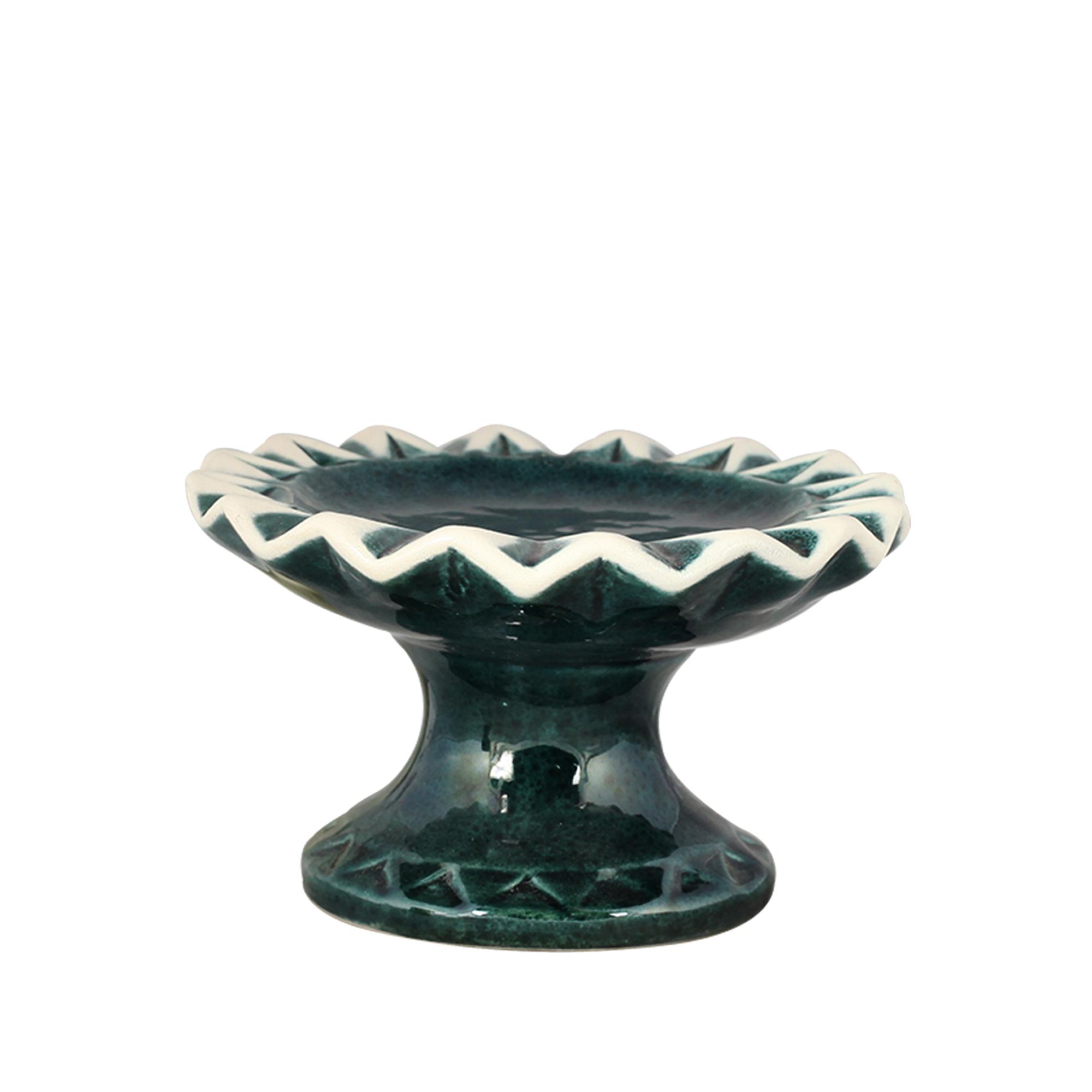 Boleira Roma Pequena Cerâmica