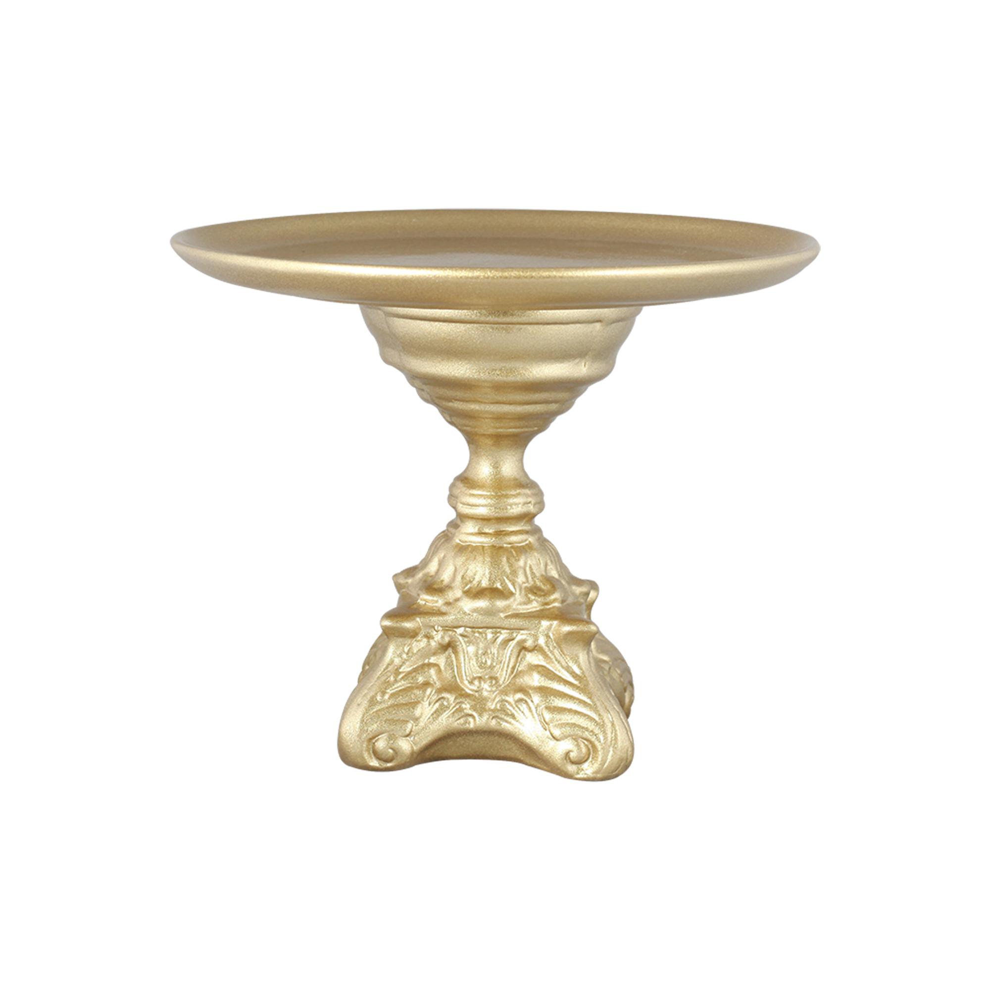 Boleira Redonda Pé de Cerâmica