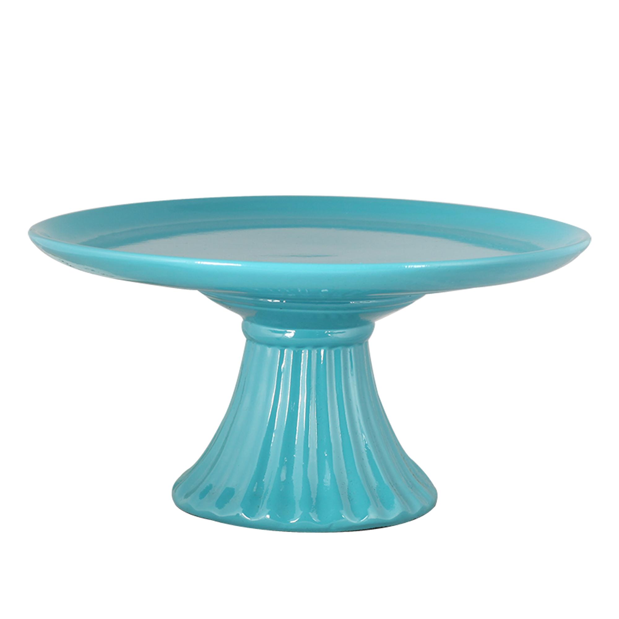 Boleira Pé Frisado Cerâmica