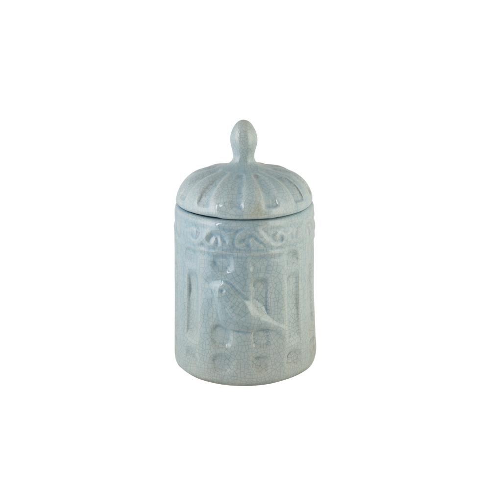 Gaiola Cerâmica Fechada Pequena