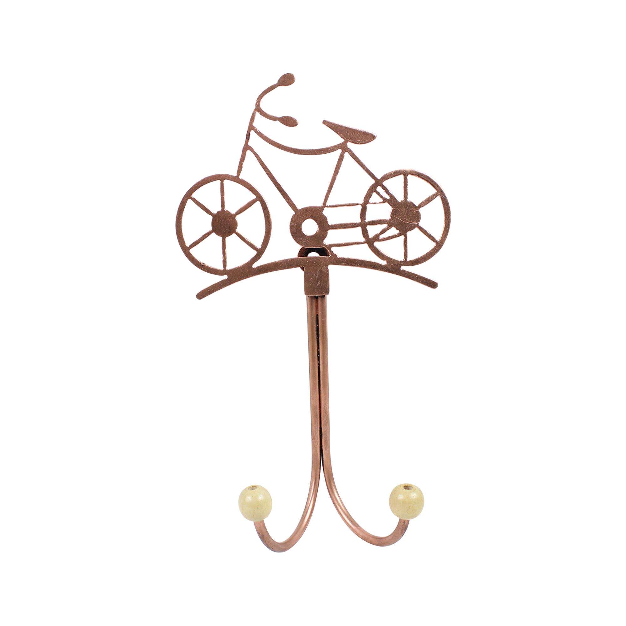Gancho com bicicleta