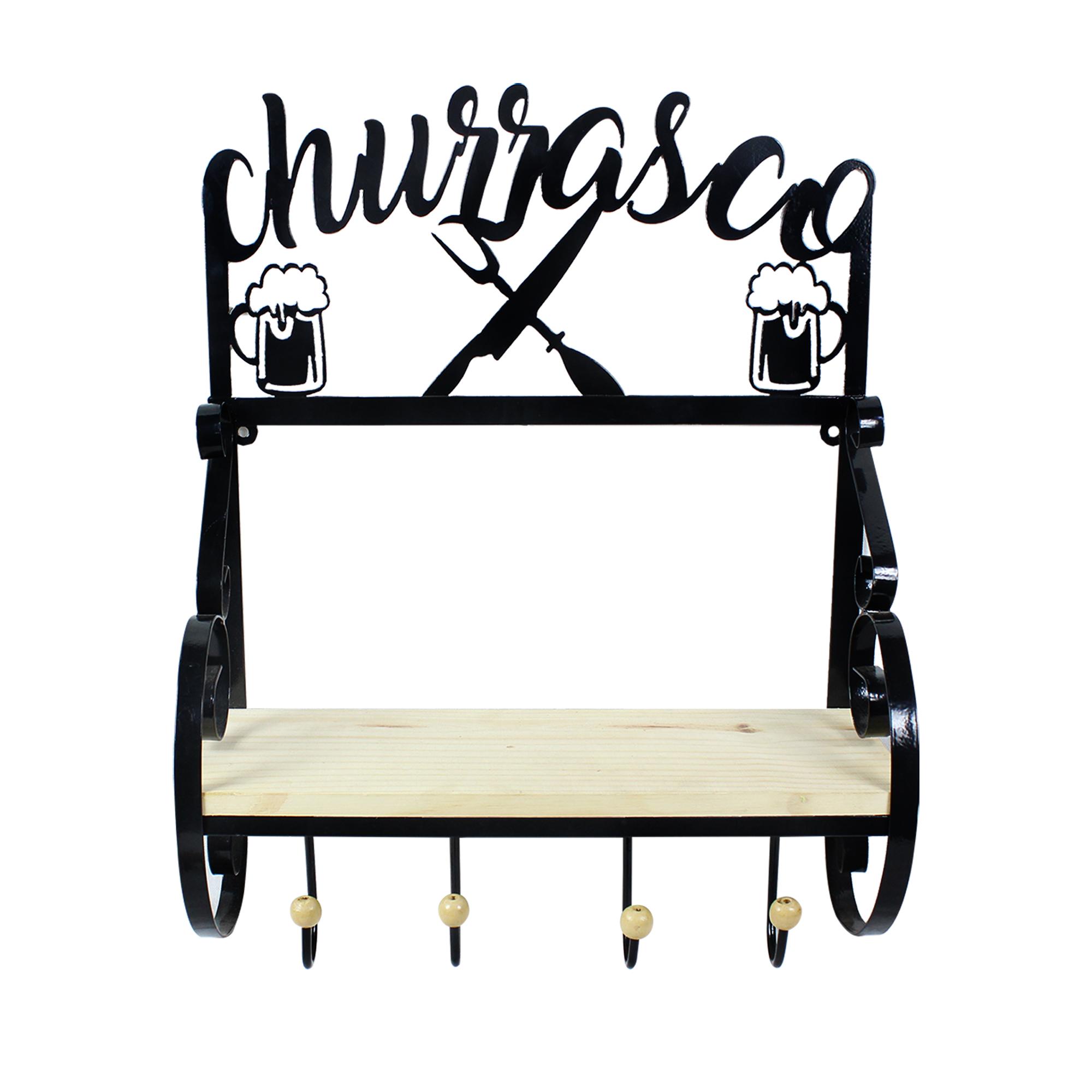 Prateleira Chapa Churrasco