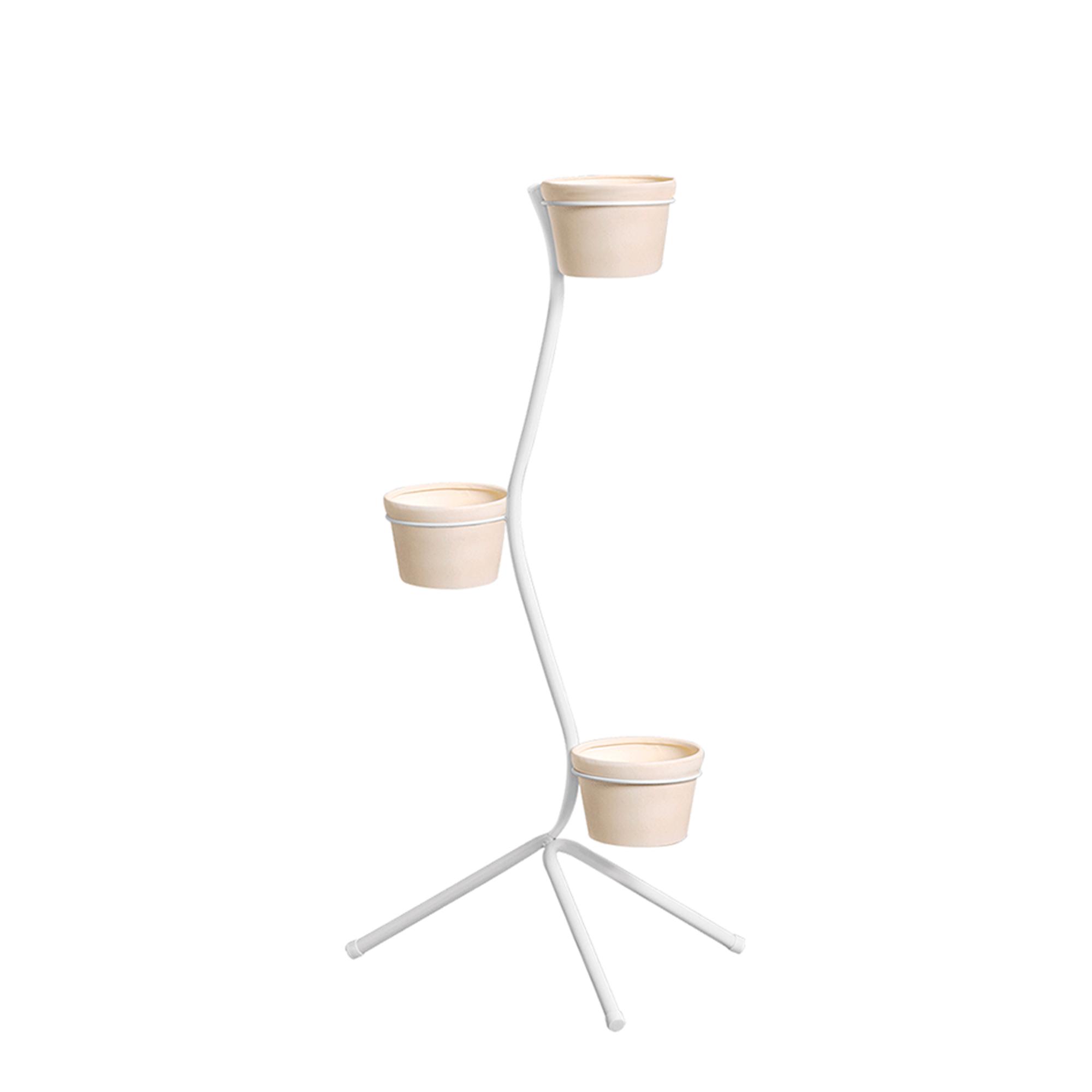 Aspiral Chão c/ 3 Vasos Redondo