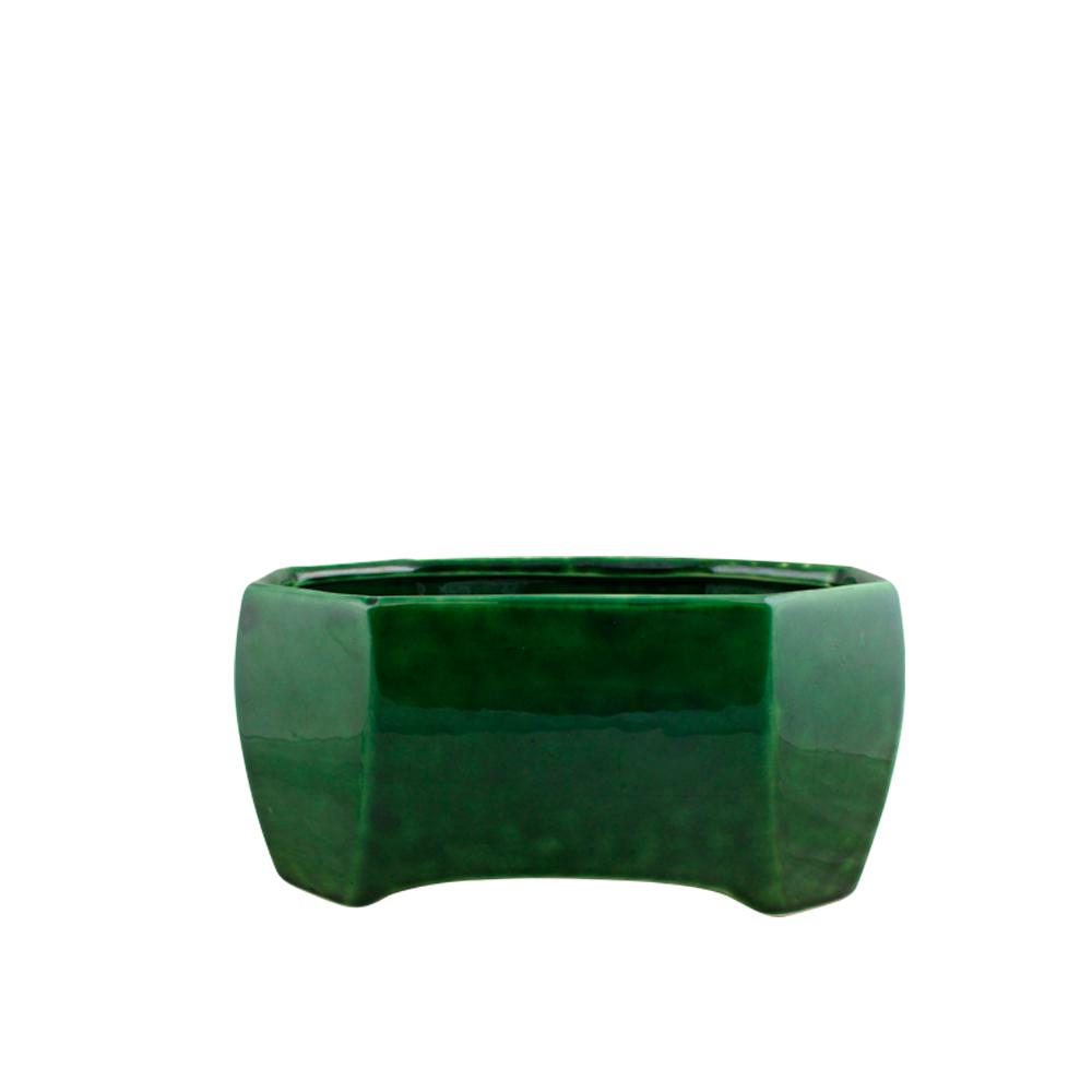 Jardineira sextavado cerâmica