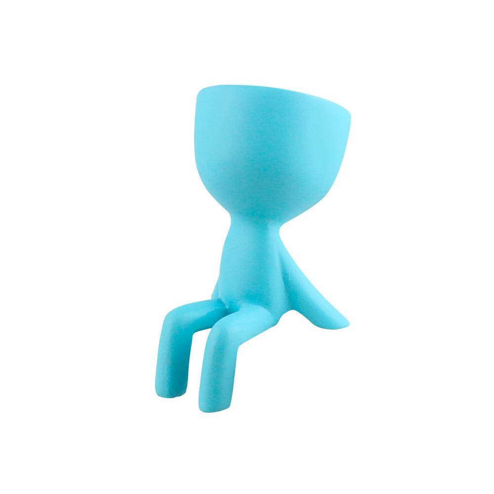 Bonequinho Sentado Mãos para Trás Pequeno