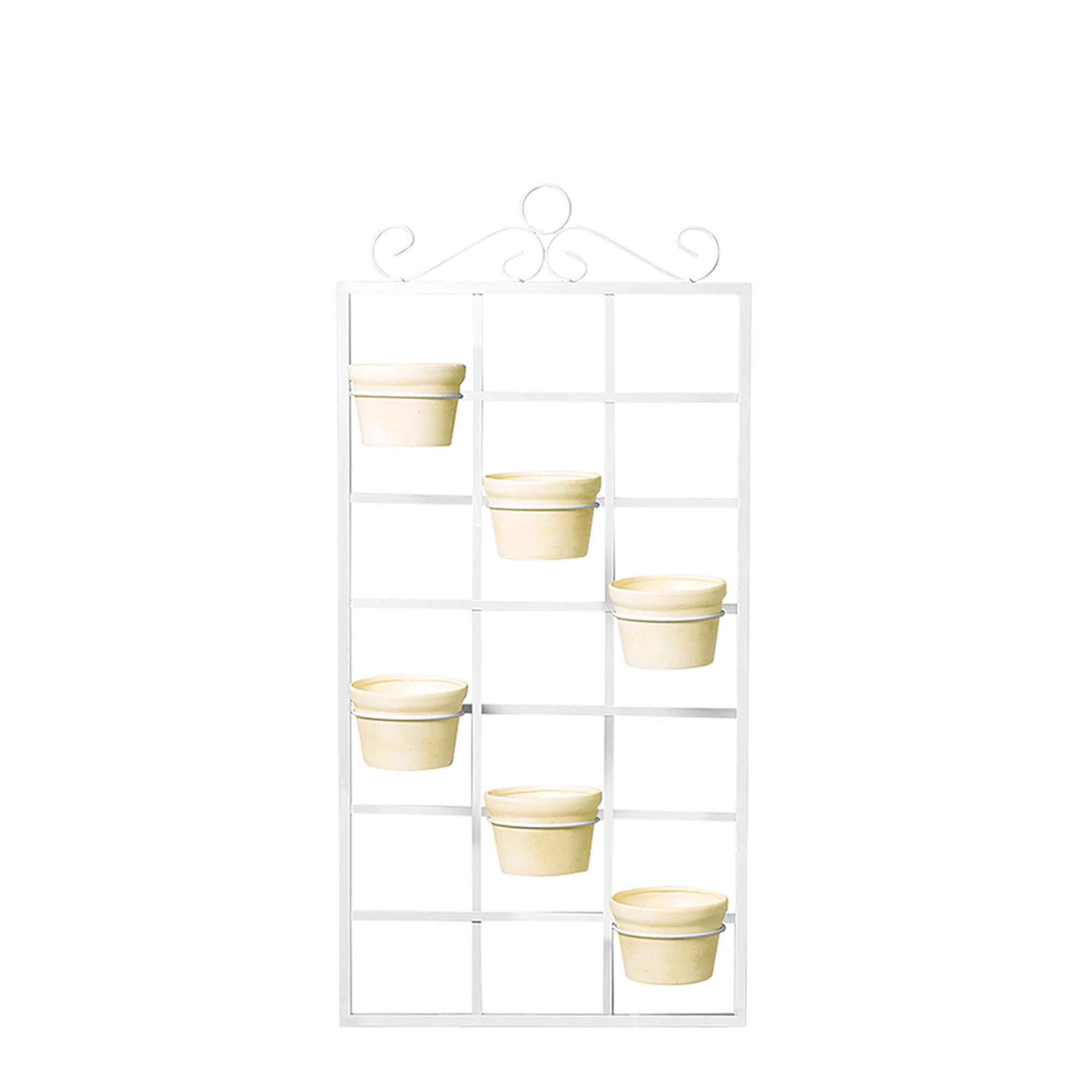 Porta Vaso Vertical c/ 6 Vasos Redondo