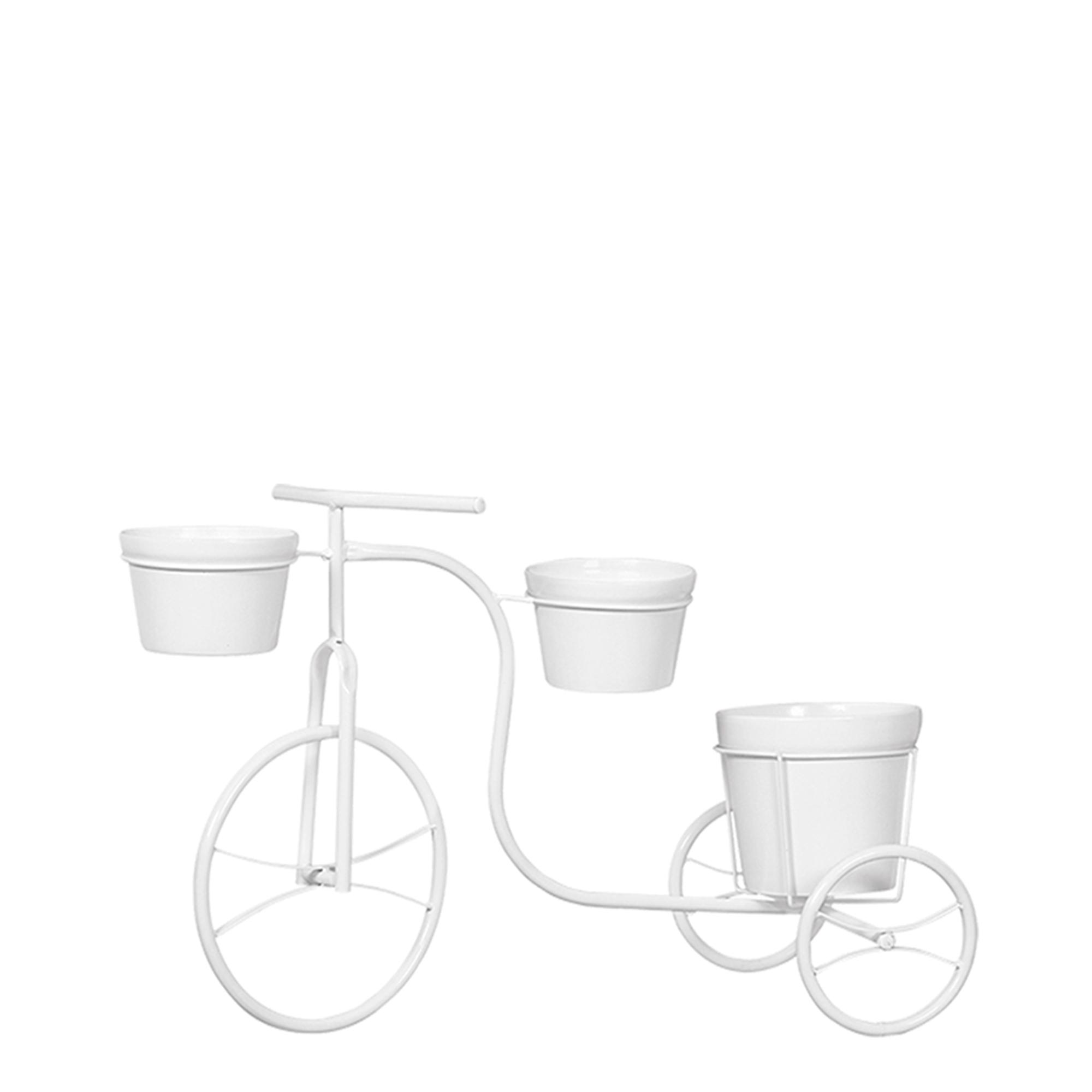Bicicleta Jardim c/ 3 Vasos Redondo