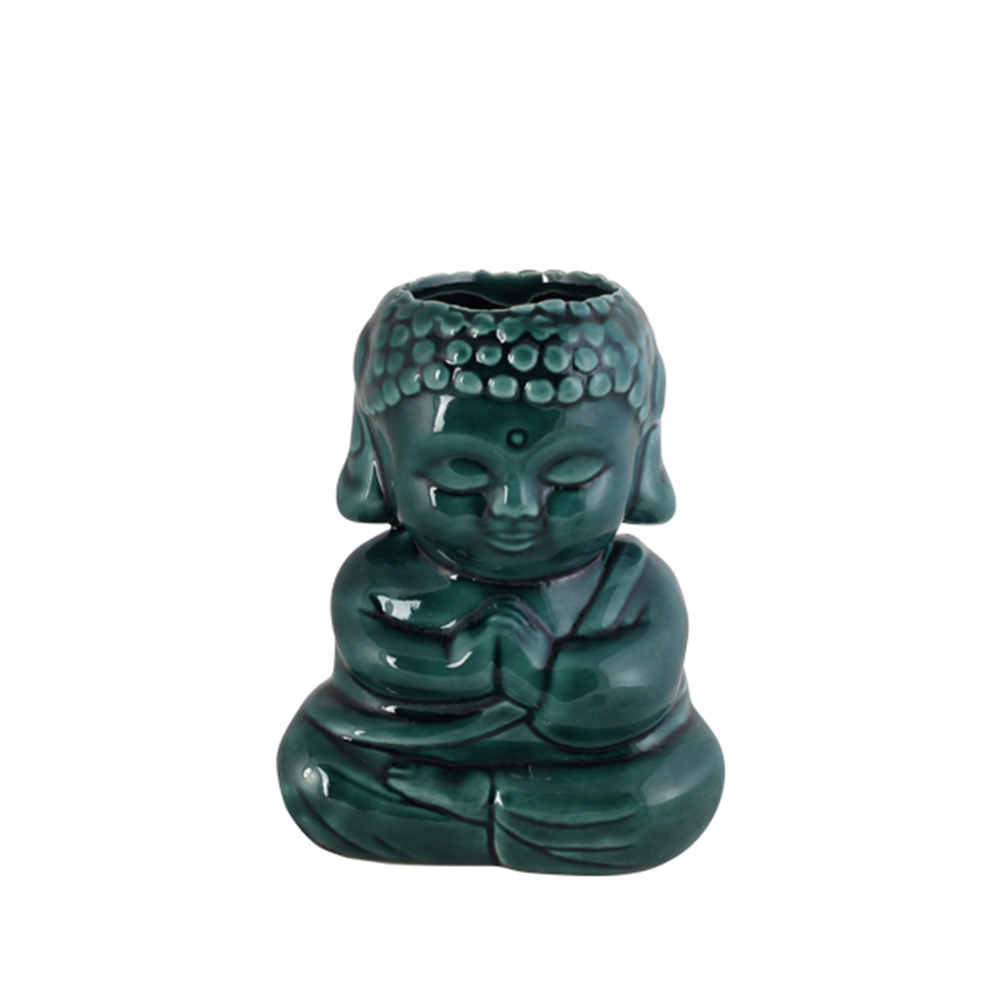 Cachepo Buda Nirvana Mão Fechada