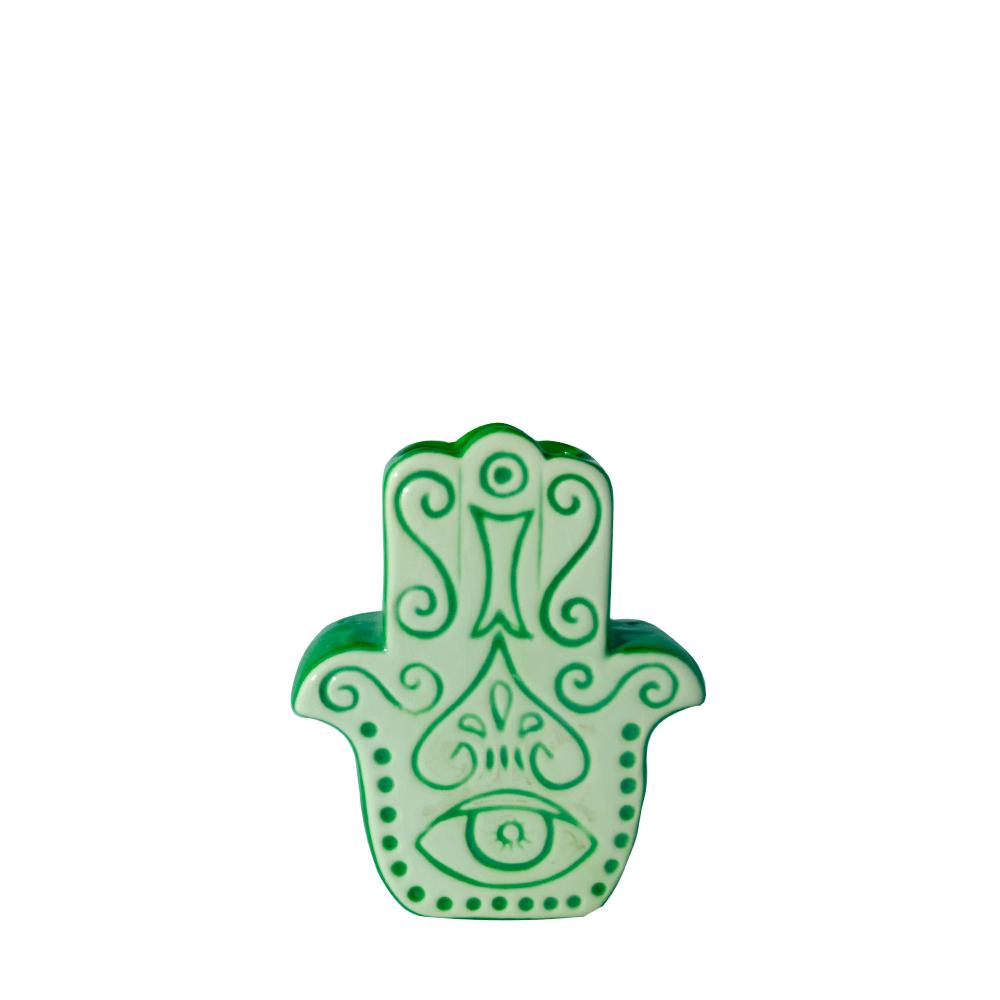 Vaso Mão de Fatima De Mesa Pequena