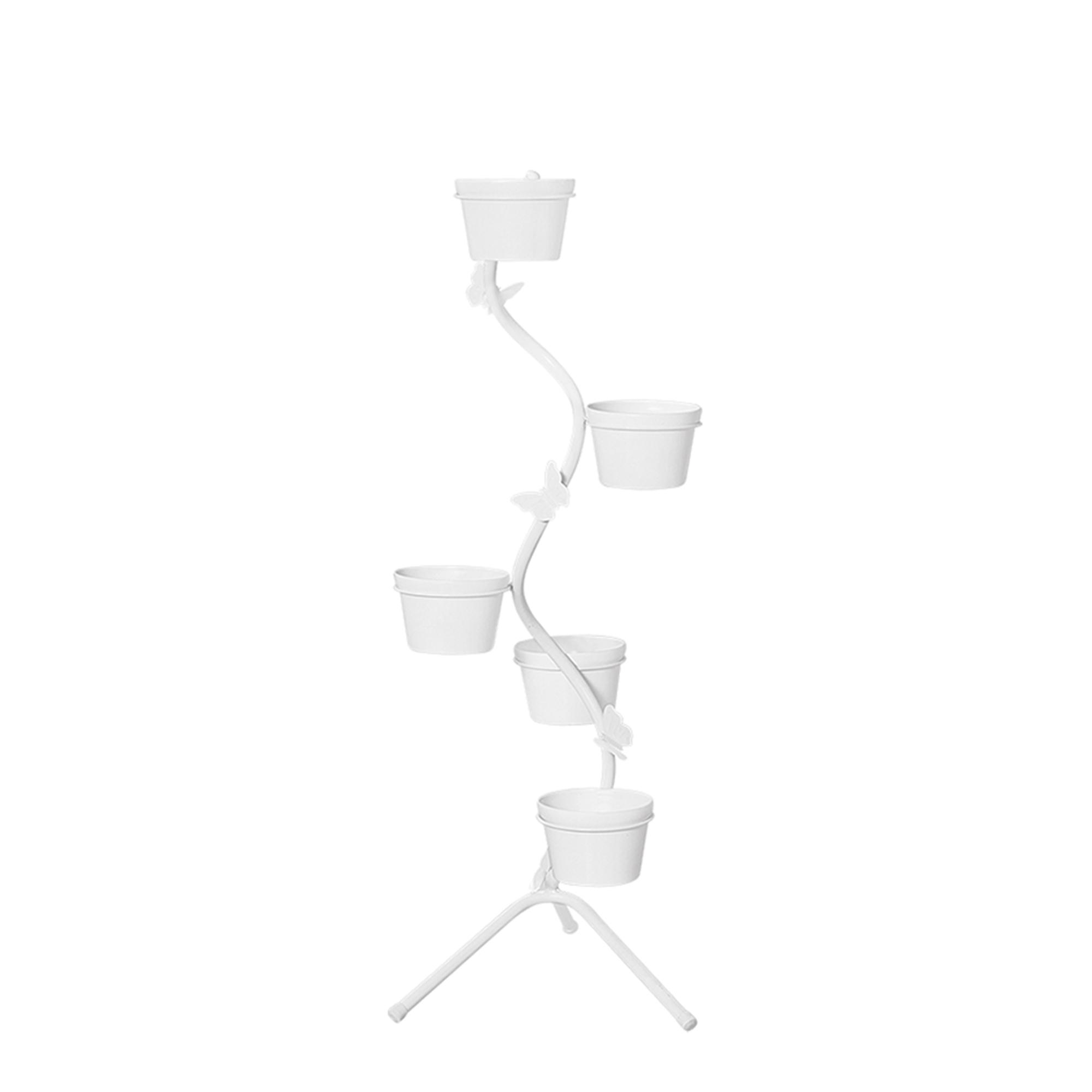 Aspiral Chão Borboleta c/ 5 Vasos