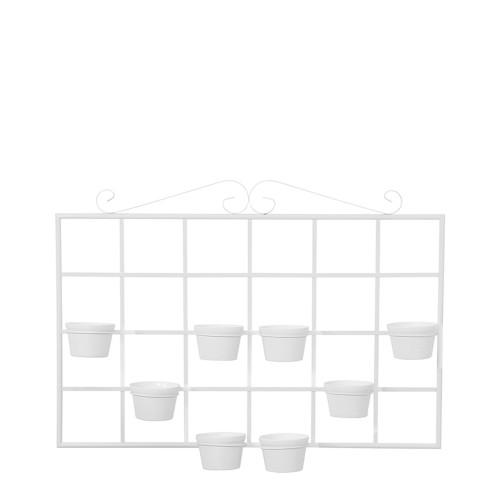 Suporte Horizontal c/ 8 Vasos Redondo