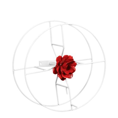 Suporte Mangueira Pequeno c/ Flor