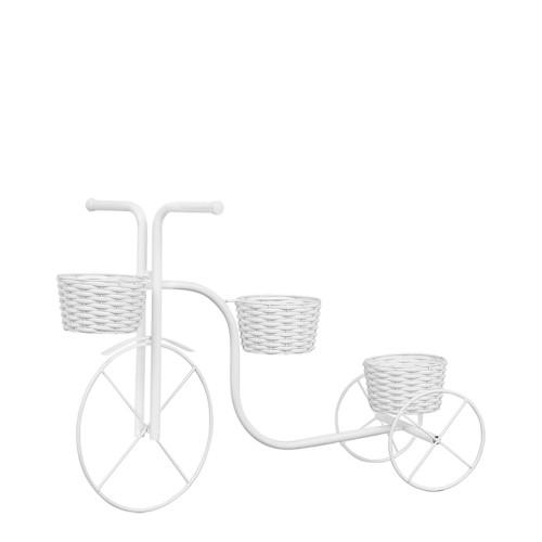 Bicicleta Jardim de Vime c/ 3 Vasos