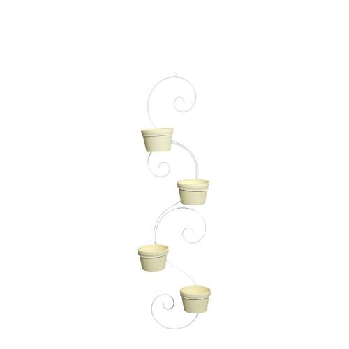 Suporte Caracol Vertical c/ 4 Vasos Redondo