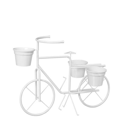 Bicicleta Jardim c/ 3 Vasos Aluminio Grande