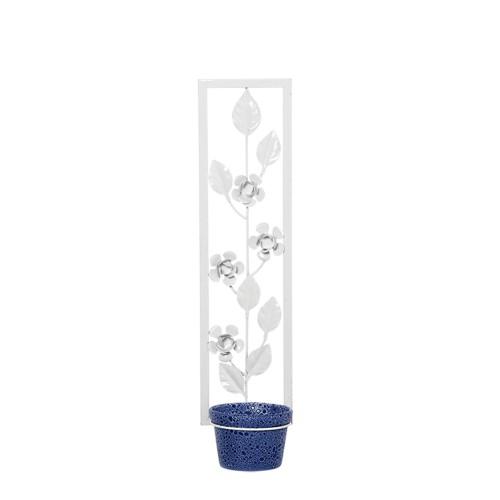 Suporte Comprido Flor Vertical c/ 1 Vaso