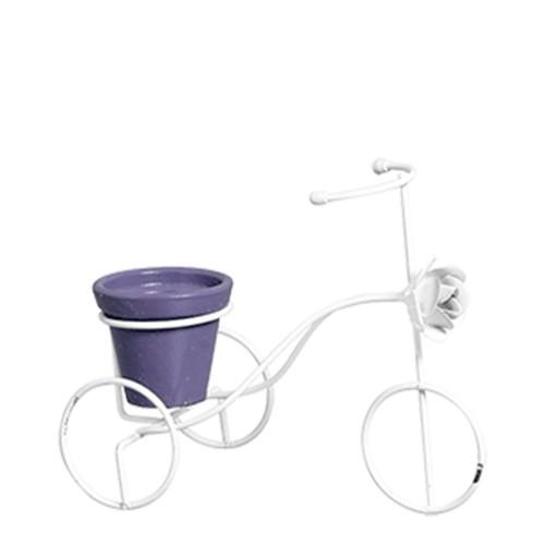 Bicicleta PP c/ Rosa Vaso Barro
