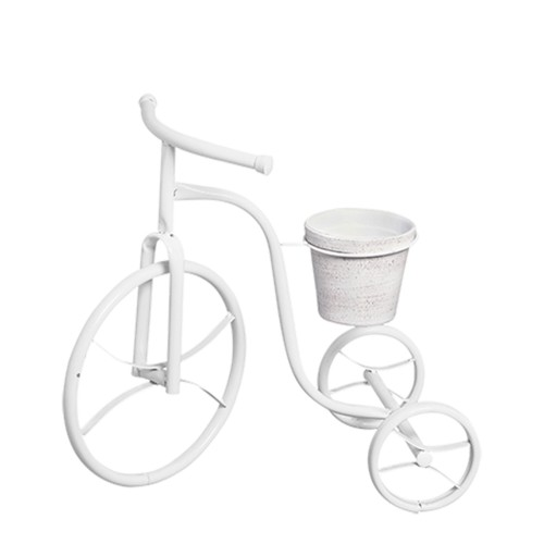 Bicicleta Jardim c/ 1 Vaso Barro