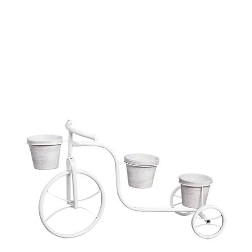 Bicicleta Chão c/ 3 Vasos Barro