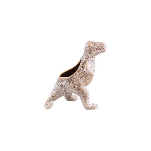 Dinossauro Sentado Cerâmica