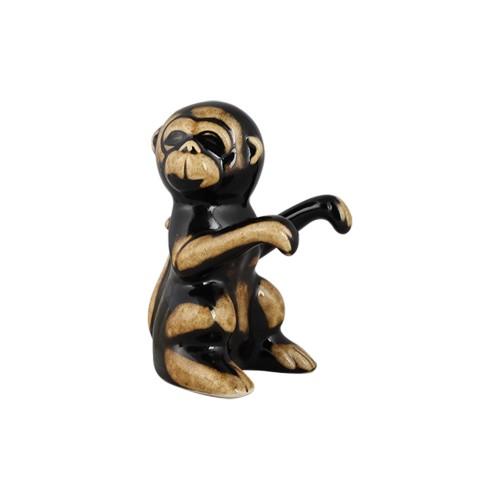 Macaco Pendurado Cerâmica