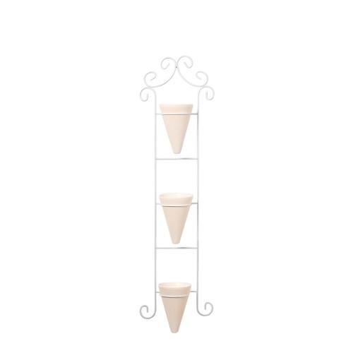 Tira Ornato c/ 3 Vasos Cone