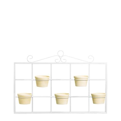 Porta Vaso Horizontal c/ 5 Vasos Redondo