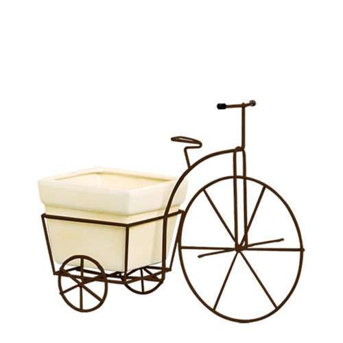 Bicicleta Grande Vaso Quadrado